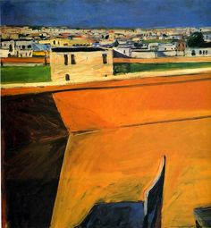 Yellow Porch by Richard Diebenkorn
