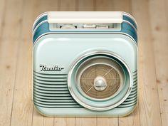 Radio iOS Icon #photoshop #vintage #retro