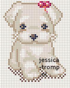 43 Free cross stitch designs dogs 2 stitchingcharts borduren gratis borduurpatronen honden kruissteekpatronen