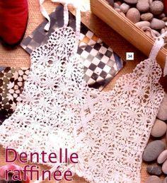Ivelise Hand Made: Crochet Blouse In Tanks ....