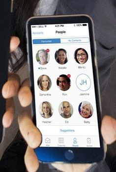 IBM Verse, IBM's new social collaboration tool that reinvents email.