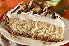 CHIPS AHOY!® Mudslide Pie recipe from Kraft.  I love any recipe that I can make ahead of time and this is one of them.
