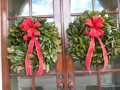 Magnolia Christmas Wreaths