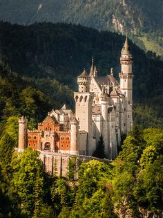 Neuschwanstein Castle, Germany photo via jean