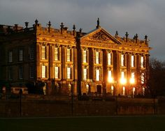 Chatsworth House stood in for Pemberly in Pride and Prejudice