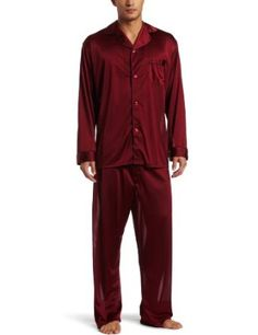 Intimo Men`s Tricot Travel Pajama Set