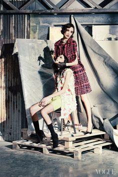 """""""Fashion Creatures"""" Vogue Korea 2014"""