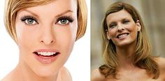 BEAUTY NOT WHAT IT SEEMS!  super models are real too... linda evangelista