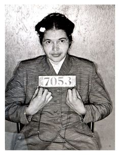 Rosa Parks boarded a bus on December 1, 1955 after a long day of work. After a few stops all seats are full and when the next white person gets on the bus, she is asked to give up her seat. She refuses, is arrested, and placed in jail.