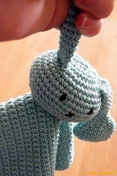 Snoezel, a combination of crochet and amigurumi