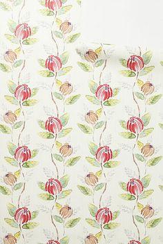 Painted Tulip Wallpaper $128.00