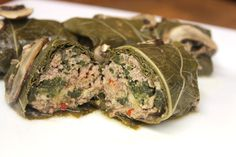 Food I Make My Soldier: Stuffed Grape Leaves