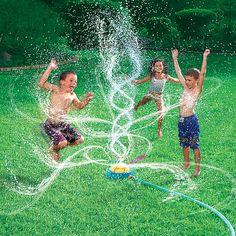 Kids Geyser Blast Sprinkler!
