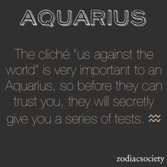 Zodiac Aquarius  https://www.facebook.com/TheZodiacZone