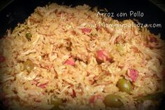 Arroz con Pollo; Spanish chicken and rice #recipe; #Sobrecitos #spon