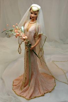 Pink bride. Tonner OOAK Barbie doll