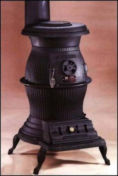 How to Refinish a Cast Iron Pot Belly Stove
