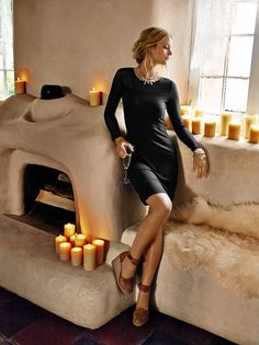 What's your #LBD for the season? #blackdress