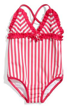 Juicy Couture Infant Beach Ruffled Swimsuit