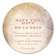 Worldly Romance - Save the Date
