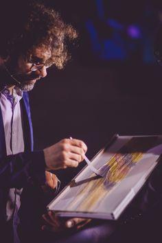 Edoardo Paludo, master colorist at work in Toronto!