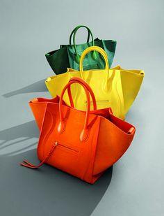 Colorful Celine bags