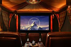 Can't be a dream home without the mini theater :)  Home Theater Design Michael Mueller Design -001.jpg (1024×683)