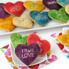Hungry Happenings: Conversation Heart Pastries