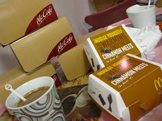 MacDonalds Breakfast kindly provided by father of the bride. themarriedapp.com hearted <3