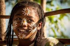 Little Girl - Mont Passot - Nosy Be | Madagascar  Photo by © Dan Romeo #girl #tradition #NosyBe #Madagascar