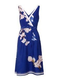 Casual dresses for gorgeous ladies on pinterest bird prints midi d