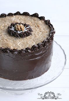 German chocolate cake; chocolate will forever by my weakness
