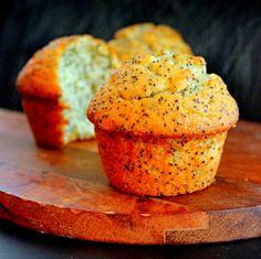 Greek Lemon Poppy Seed Muffins