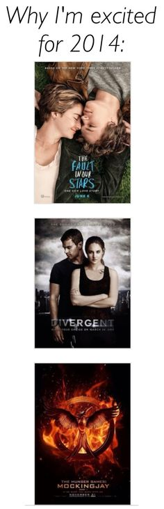 The Fault in our Stars, Divergent, Mockingjay part