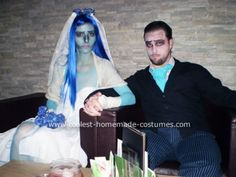 Corpse Bride Halloween Costume  http://www.coolest-homemade-costumes.com/coolest-corpse-bride-halloween-costume-8.html#