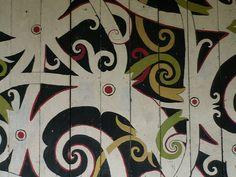 Dayak Painting.