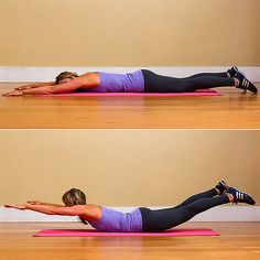 Five Minute Workout for Strong Back