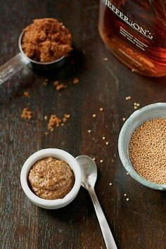 diy - bourbon brown sugar mustard