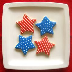 desserts, galleries, stripe cooki, fourth of july, safety tips