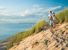 Sleeping Bear Dunes National Lakeshore - Empire, Michigan  This is a great place to go! So beautiful! Pin to Win: Michigan in Love #PureMichigan