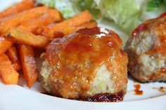 Mix and Match Mama: Dinner Tonight: Apple Chicken Meat Balls