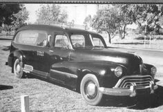 1946 Oldsmobile Hearse/ The bodywork carries all the trademarks of Olding Coachcraft (Sydney)