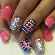 ♥Nautical Nails♥