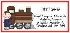 Polar Express Speech/Language Activities: Free Regular and Irregular Plurals Printables