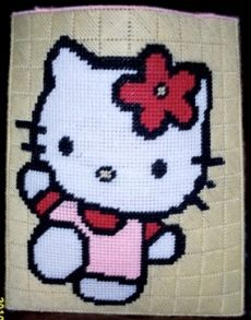 hello kitty Plastic Canvas Pattern 3.00