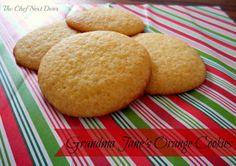 Grandma Jane's Orange Cookies