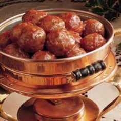 Cajun Party Meatballs Recipe | Just A Pinch Recipes