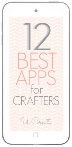 Need a level at your fingertips for home decor projects, maybe an app that can tell you instantly what paint color you need? 12 Best Apps for Crafters!