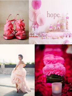 Frosted Pink Events: Color Inspiration: Pink for Breast Cancer Awareness Month