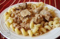 Slow Cooker Meals - Beef Stroganoff - Mama Say What?!